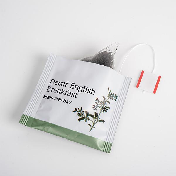 لفاف چای کیسه